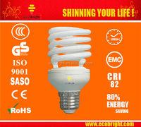 HOT! T2 25W Spiral Energy Saving Lamp bulb 10000H CE QUALITY