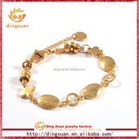 2015 latest design Wholesale fashion 18k gold bangle saudi arabia jewelry