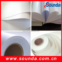 Chinese factory Glossy advertising 6 feet flex banners printing materials