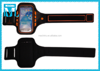 top level/ neoprene / mobile phone/Sport led armband
