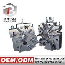 Designing from customer products drawing die casting mold for casting lead