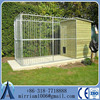larger breeds New Zealand hot dipped galvanized chain link dog enclosures for sale