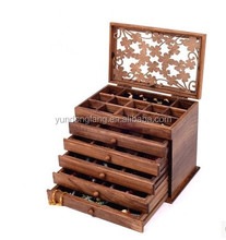 High quality custom velvet jewelry packaging display box factory price