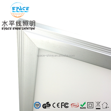 Latest products recessed ultra thin led light panel 36w 43w square 600x600 led panel light for office and meeting room