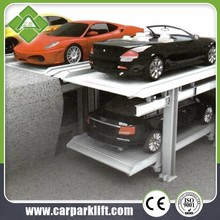 used 4 post hydraulic smart car parking lift system for sale