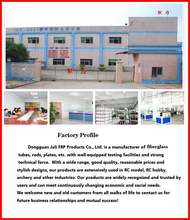 fiberglass tube fiberglass pole golf bag parts support rod dongguan factory