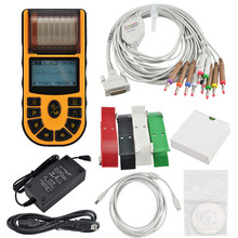 PC Software 1 channel Handheld Electrocardiograph ECG Machine EKG-80A2 with CE / ISO certified