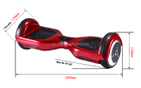 two wheels electric self balancing scooter smart hover board scooter paypal accepted