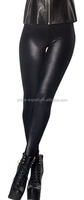 1794 2015 wholesal hot sale fashion autumn new European sexy women Imitation leather pure black pantyhose