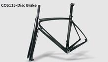 2015 Newest toray carbon fiber Disc brake road bike carbon frame,700C carbon frame with disc brake for sale