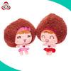 2015 new design stuffed plush fashion doll for children