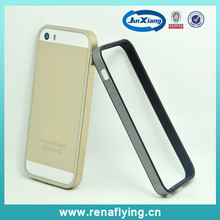 fashion PC+tpu mobile phone double front bumper cover for iphone 6