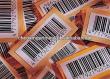 hot sale supermarket Bar Code Stickers in roll,Serial Number labels with wholesale price