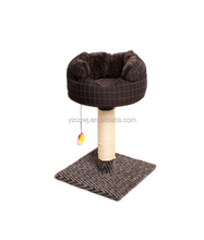 Cat toy tree dog dog rope toy
