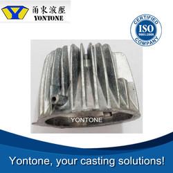 Yontone Factory Low MOQ A390 A356 ZL102 AlSi12Fe AlSi9Cu3 A380 ADC12 motorcycle aluminum alloy die cast precision cast wheel
