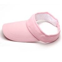 Hot selling Outdoor Sports Adjustable Unisex Women Men Summer Sun Visor Hat Sport Golf Tennis Baseball Caps Gift