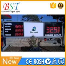 Display de led para gasolineras,tableros tabletas de led para precios de gasolineras Pemex
