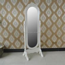 Factory manufacturer decorative mordern wooden standing mirror