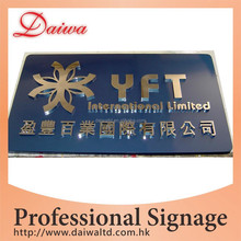 Stainless Steel mirror Words signage