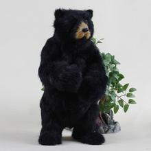 Design antique stuffed bear graduation toy
