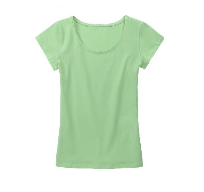 Women wholesale bulk round neck plain t shirts china buy for Purchase t shirts in bulk