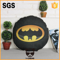New Design Fashion Superheroes Pattern Round Seat Cushion Round Cushion For Chair