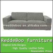 sofá da tela com a índia de madeira estrutura de sofá de dois lugares
