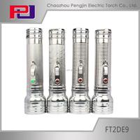 FT2DE9 Led factory lighting flash torch lanterne camping led