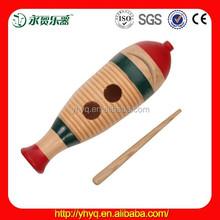 Entretenimiento instrumentos musicales de madera de guiro de agogo