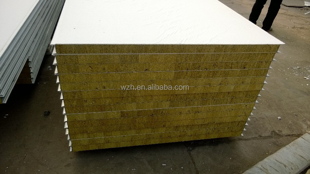 Glass Wool Sandwich Panel Rockwool Insulation Panel Sound