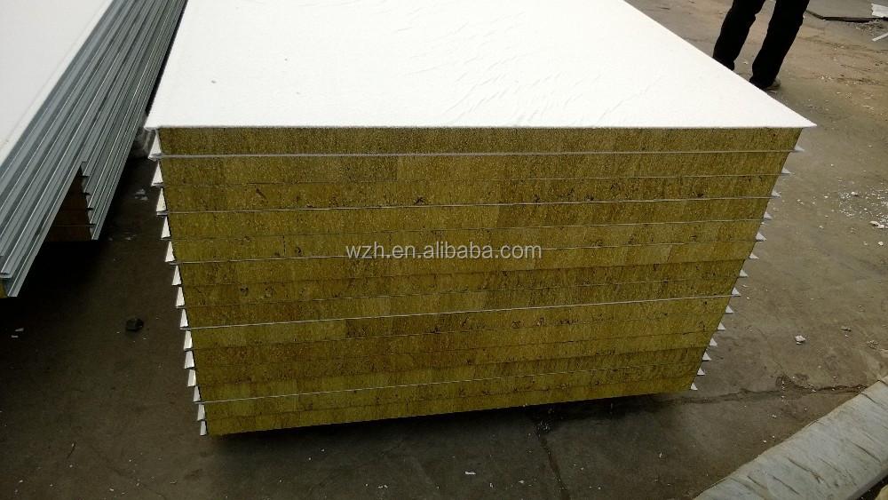 Glass wool sandwich panel rockwool insulation panel sound for Rockwool insulation panels
