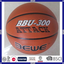 durable indoor 8 panels high school 7# pu basketball
