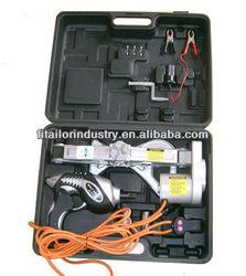 12V Electric Car Jack & Impact Wrench, car repair tool kit ,Electric scissors-jack,Vertical electric jacksupply2ton