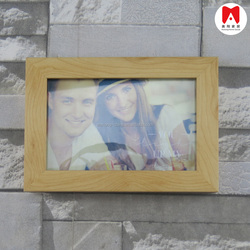 Customized 4X6 White Cheap Picture Frames Nice Plastic Picture Frames Wholesale Custom High Quality PS Poster Frames