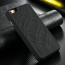 New mobile phone case, luxury rubber standable mobile phonecase with card holders for iPhone6 plus