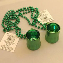Irish Beer Mug Party Shot Glass Necklace