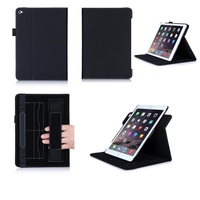 multi function PU flip leather case for ipad air 2 with stand