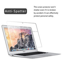 liquid screen protector colored glass table top for Apple MacBook Pro best tempered glass screen protector