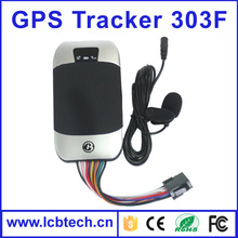 Low price dual band gsm gps tracker for vehicle / motorcycle real time google tracking on mobile phone