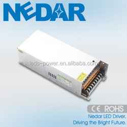 LED Drive Supplier! Provide OEM R&D Service Constant Voltage Switch Power Driver Indoor Lighting Driver 400W 24V 16.7A