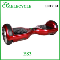 2 wheel standing up self balancing electric scooter hover board