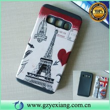 2015 Popular colored hybrid cover For Samsung Galaxy A3 Combo Cases for Phones