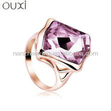 OUXI Fashion dubai wedding rings jewelry made with Swarovski Elements
