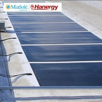 Hanergy 230w flexible solar cell roll with best soler cell price