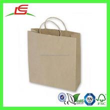 J193 Shenzhen Supplier Wholesale Paper Apparel Bag with Handle