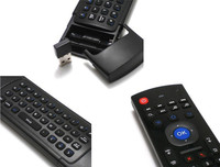 Mx3 Fly Air Mouse And Mini Wireless Gaming Keyboard Remote 2.4Ghz Control Accessories Mini Bluetooth Keyboard