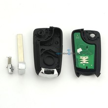 Flip remote key 2 button 434mhz for Opel Vectra remote key