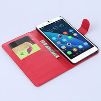 for Huawei honor 6 Plus case, leather folio cover case for Huawei honor 6 Plus