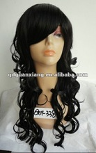 Hot sale cheapest AAA quality top quality low price machine made synthetic wigs