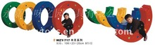 Child Plastic Semicircle Basketball Ring